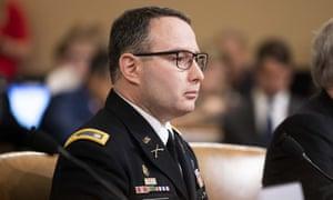Lt. Col. Alexander Vindman.