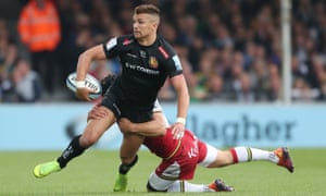 The England back Henry Slade has continued to bloom for leading try scorers Exeter, who topped the table.