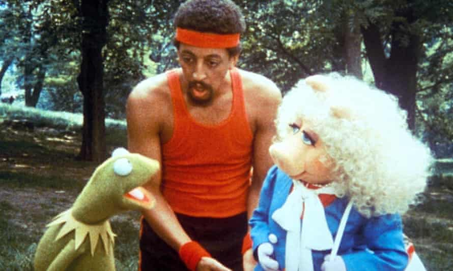 'The show's not dead, as long as I believe in it' ... Gregory Hines is among the stars with cameo roles in The Muppets Take Manhattan.