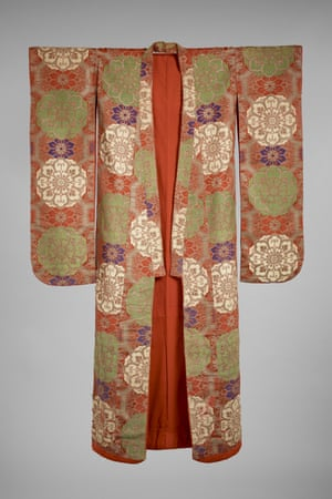 Women's ceremonial costume (uchikake) from the Japanese theatre Kabuki.