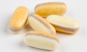 Probiotic multivitamin pills.