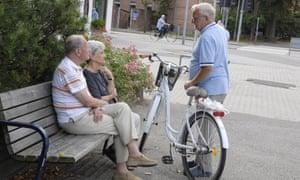 Older people in Copenhagen
