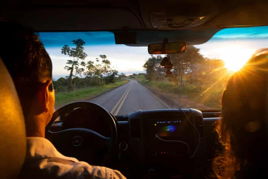 The drive from Rio Branco to the Amazon rainforest.