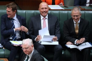 Home Affairs minister Peter Dutton during question time