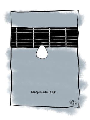 The death of George MartinA cartoonist's tribute.
