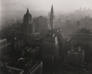 From Empire State Building, New York (Looking Southeast), 1946