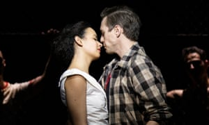 Who wouldn't be won over by this pair? ... Adriana Ivelisse and Jamie Muscato in West Side Story.