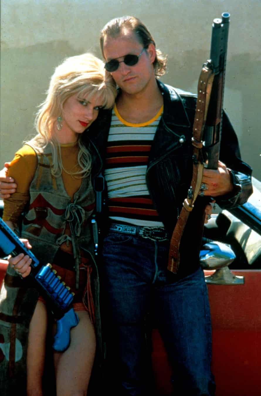 Juliette Lewis and Woody Harrelson in Natural Born Killers