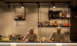 Prague kitchen staff