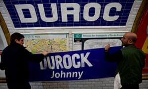 Duroc metro station is renamed.