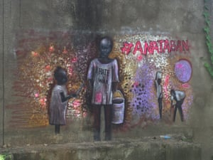 Street art with the hashtag AnaTaban