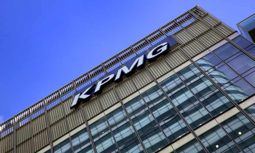 KPMG offices, Canary Wharf, London.