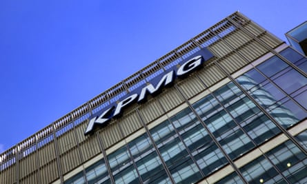 KPMG offices in Canary Wharf