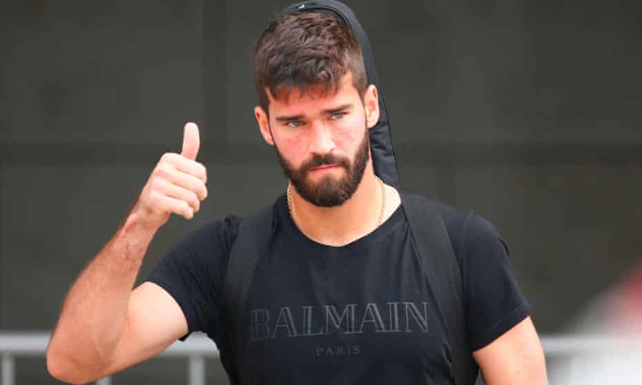 Alisson, who started all of Brazil's games at the World Cup, is set to replace Loris Karius as Liverpool's first-choice goalkeeper.