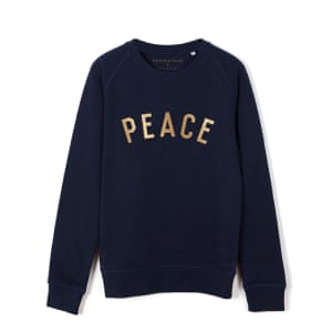 One of eight celeb-endorsed styles; 50% of the retail price goes to Save the Children; Fair Wear certified. £50, Nicholas Hoult for Save the Children thefmlystore.com