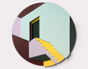 A picture of stairs and a doorway by Emily Forgot