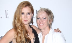 Amy Adams with her mother.