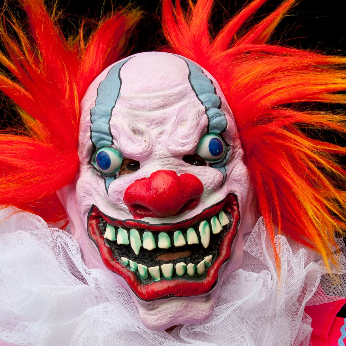 Clown Sightings The Day The Craze Began Culture The Guardian
