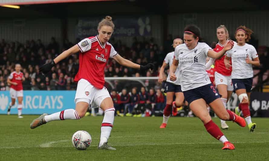 Vivianne Miedema scores Arsenal's winner