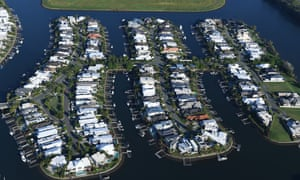 Housing in Coomera on the Gold Coast.