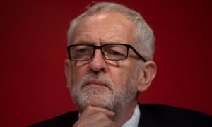 Jeremy Corbyn at Labour conference 2019