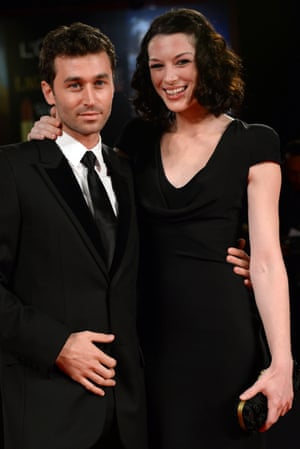 James Deen and Stoya at the Venice film festival in 2013