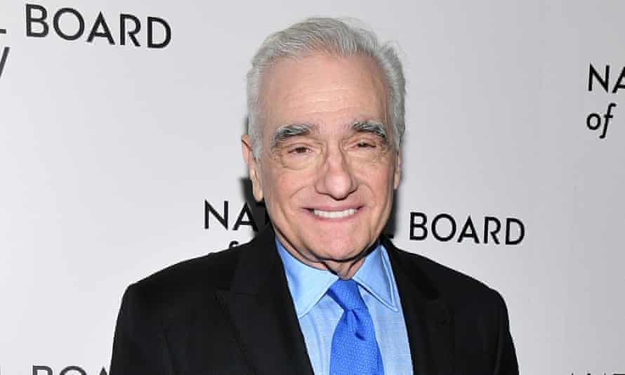 Martin Scorsese: taking a stand.