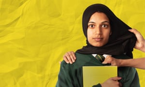 actor playing Muslim schoolgirl