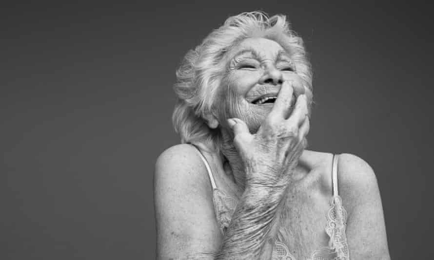 Margaret, photographed for Relate's Let's Talk the Joy of Later Life Sex campaign.