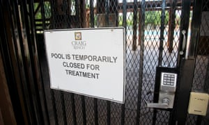 The Craig Ranch neighbourhood pool.