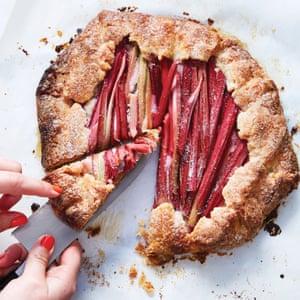 Rhubarb-Almond Galette Alison Roman Dining In