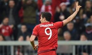 Goal machine Robert Lewandowski