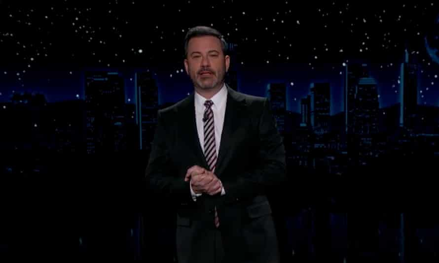 Jimmy Kimmel: 'Can you imagine Trump having a dog? I can't picture him feeding anyone but himself.'