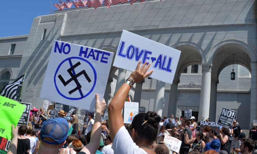 Social media companies have come out in force against hate groups since the weekend's events at Charlottesville.