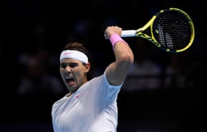 Nadal wins the second set.