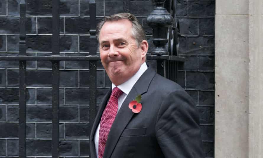 Liam Fox had previously backed the eating of chlorinated chicken, leading to a rift with cabinet colleagues.