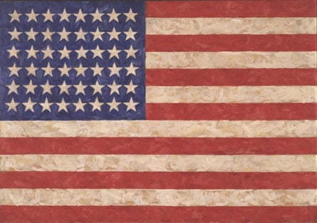 Flag, 1958, by Jasper Johns, who is considered one of the world's most important living artists.