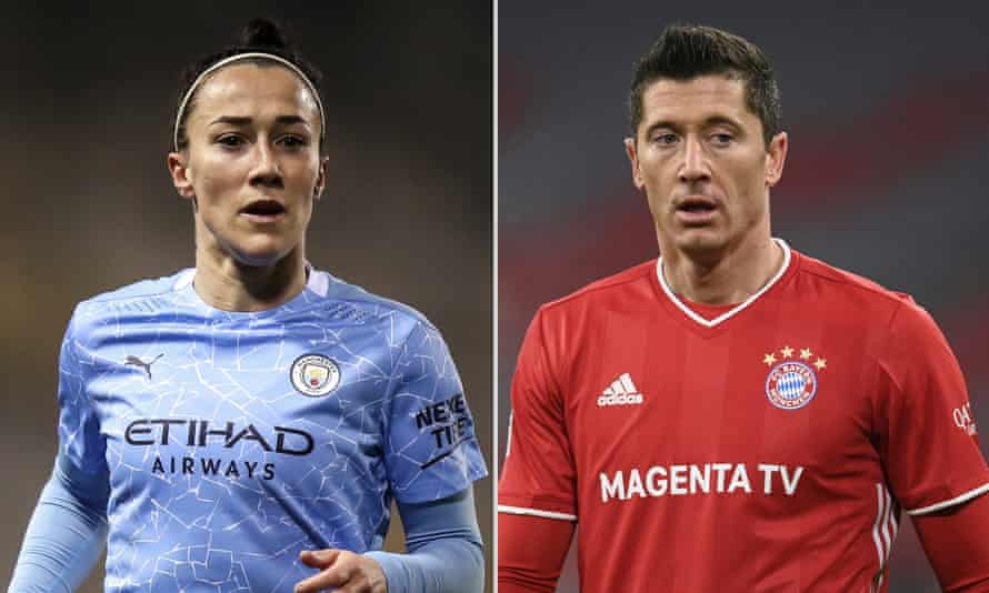 Lucy Bronze and Robert Lewandowski were the main winners at Fifa's annual ceremony.
