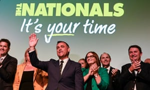 NSW Nationals leader John Barilaro speaks at the party's campaign launch for the state election.