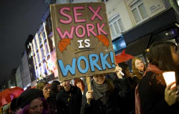 """'The term """"sex work"""" is a myth: the myth that it is possible to commodify consent.'"""