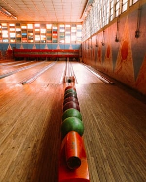Art deco bowling alley, Asmara