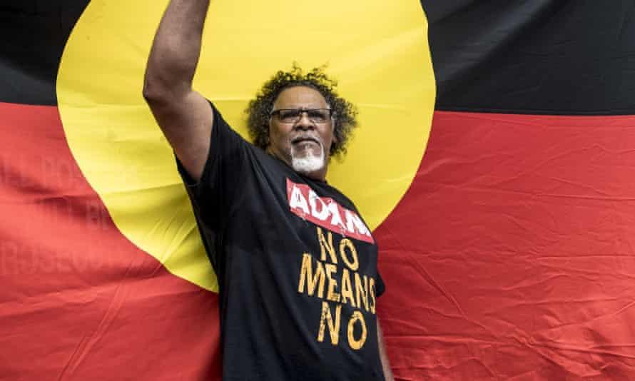 The Indigenous leader Adrian Burragubba