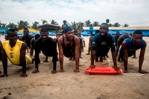 The beaches of Accra are preparing to welcome thousands of bathers for the Easter holidays