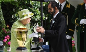 The Queen with Sheikh Mohammed at Royal Ascot last month.