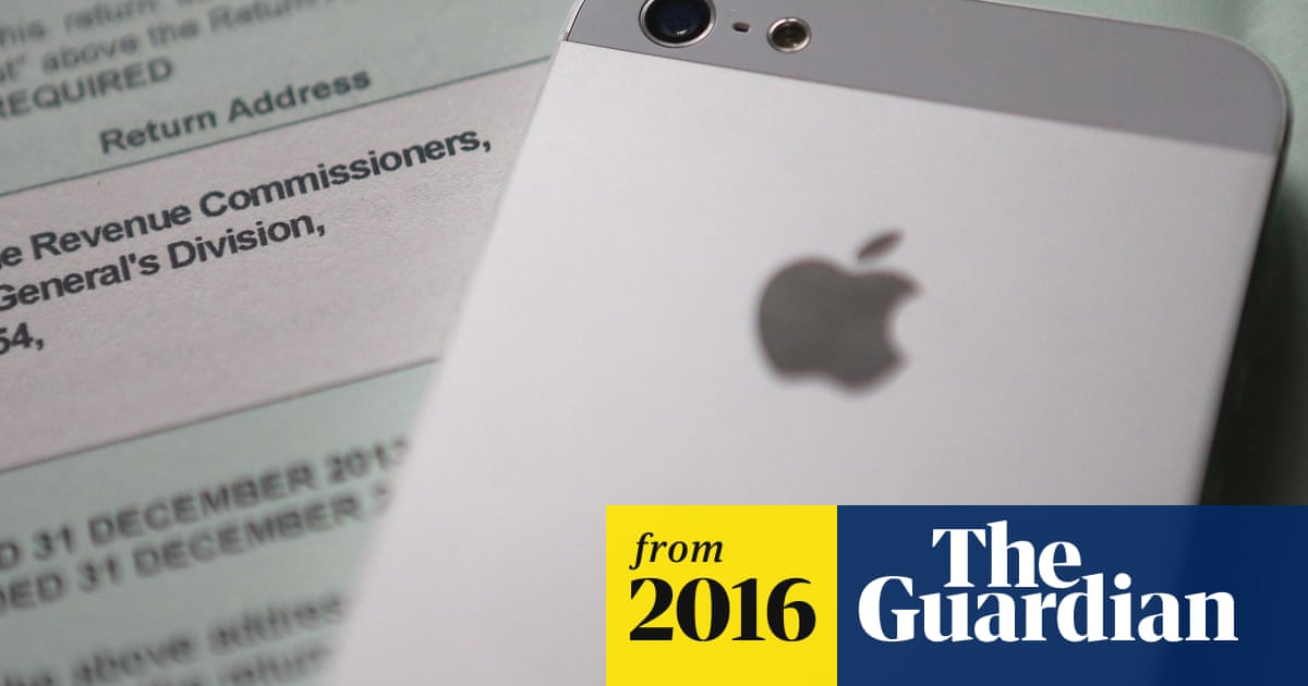 Apple ordered to pay up to €13bn after EU rules Ireland