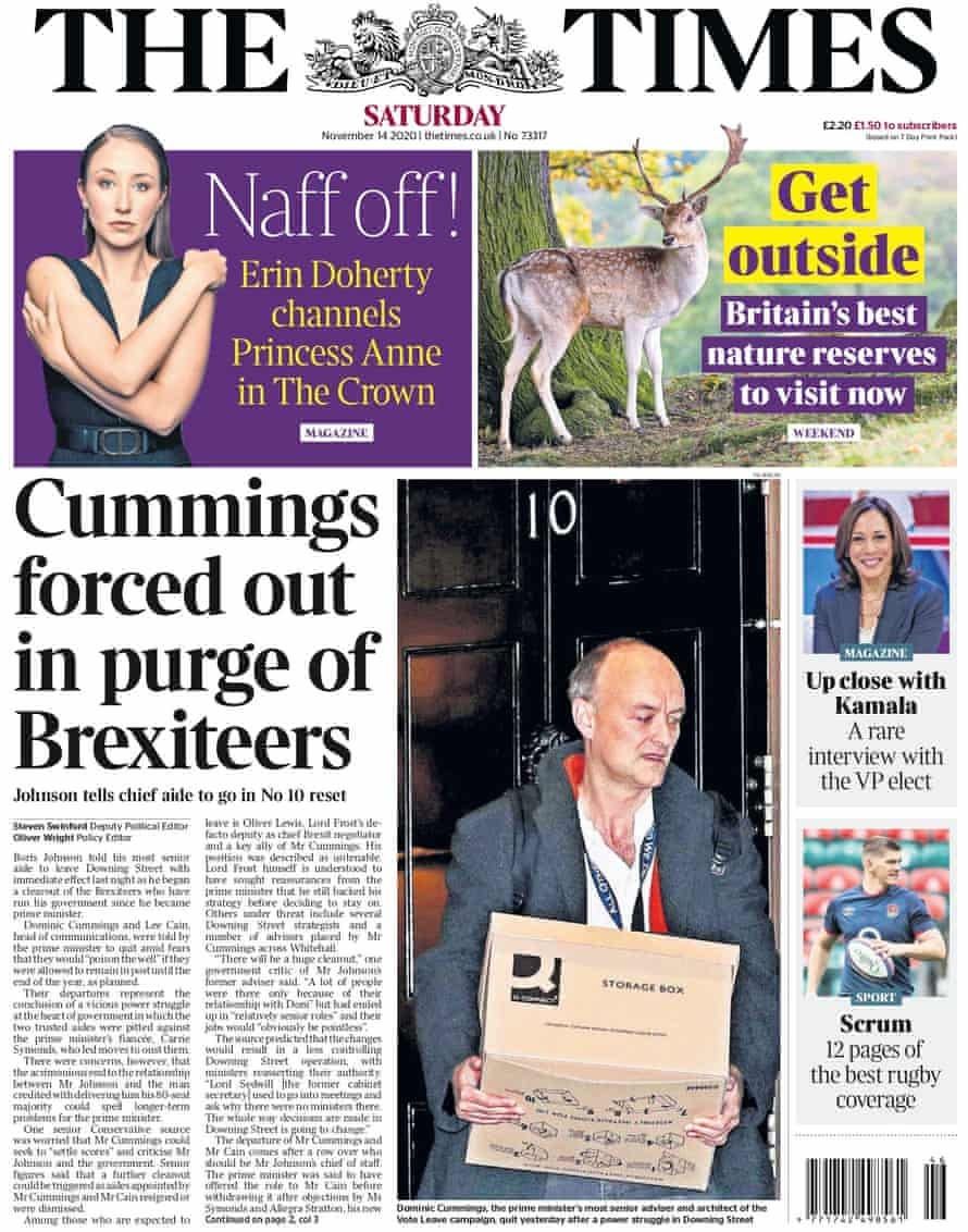 Times front