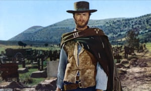 Clint Eastwood in the cemetery in The Good, the Bad and the Ugly.