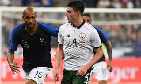 Declan Rice switches allegiance from Republic of Ireland to England