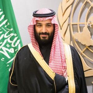 Heir to the Saudi throne, crown prince Mohammed bin Salman.
