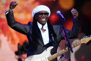 Nile Rodgers of Chic.